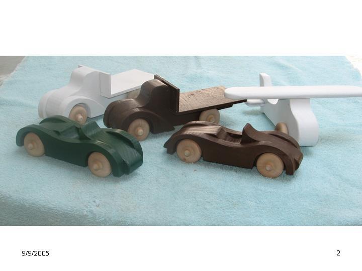 Toy Car Plans