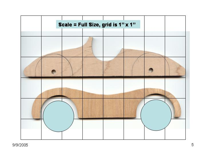 blueprints toy car